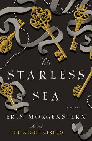 The Starless Sea by Erin Morgenstern book cover