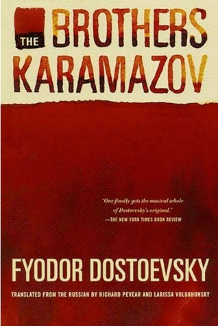 The Brothers Karamazov by Fyodor Dostoevsky book cover
