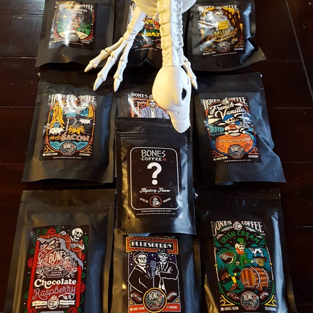 Bones Coffee Company sample pack